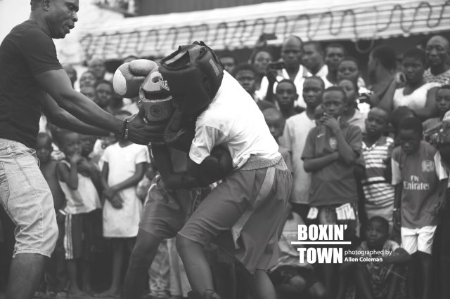 boxing town by allen coleman